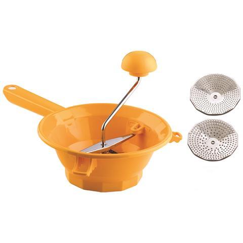 Passatutto In Plastica Din. 20 Con Particolari In Acciaio Inox (2 Dischi) Mod. Tilly 2