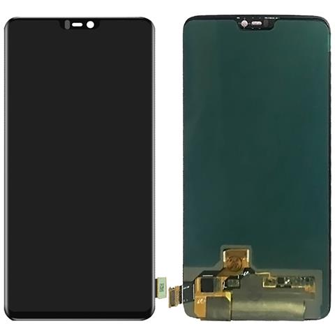 Image of Ricambio Display Lcd Touch Schermo Screen Digiter Assembly Nero Per One Plus 6