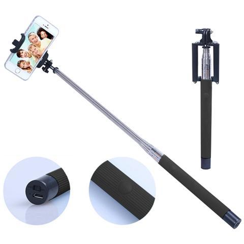 EMACHINE Monopod Bluetooth Con Tasto Click Per Smartphone / Camera