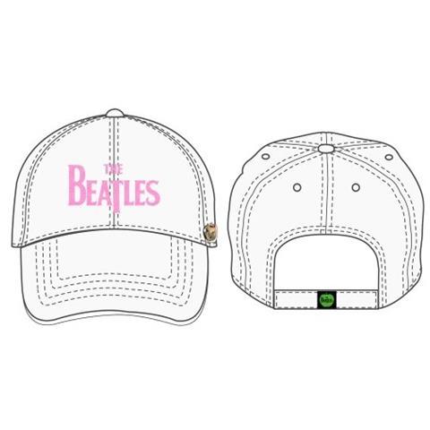 ROCK OFF Beatles (The) - Drop T Logo (White) (Cappello)