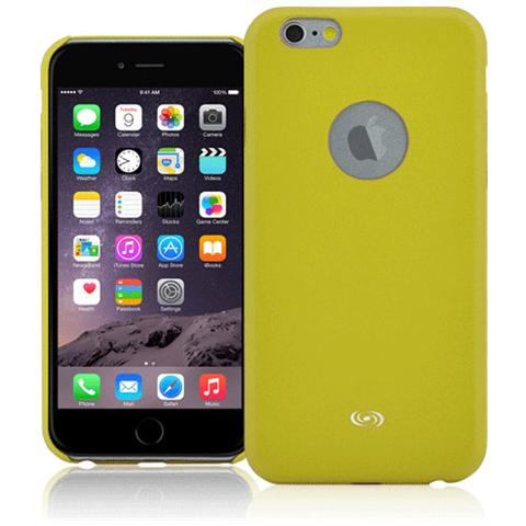 FONEX Executive Cover in Ecopelle per iPhone 6/6S Colore Verde