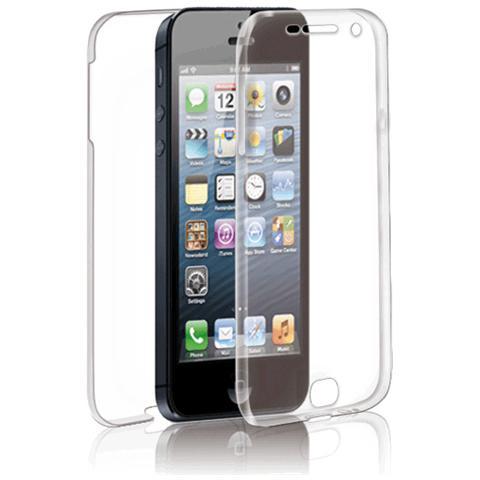 FONEX Specter Cover Fronte / Retro in TPU con Funzione 3D Touch per Iphone 5/5S / SE Colore Trasparente