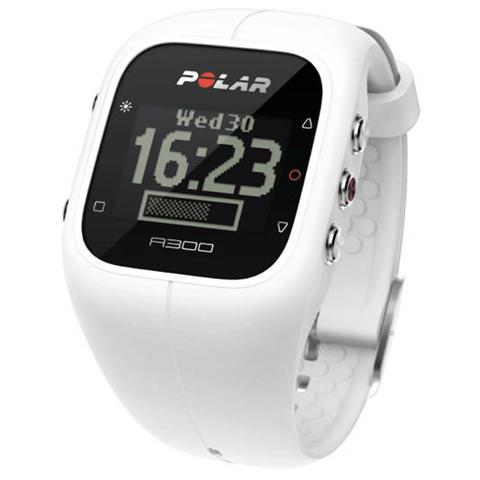 Polar A300 Orologio Fitness e Activity Monitor Bluetooth con Cardiofrequenzimetro Calorie e Sonno - Bianco