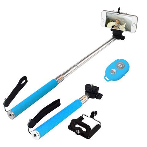 EMACHINE Monopod Bluetooth Con Telecomando Per Smartphone / Fotocamera