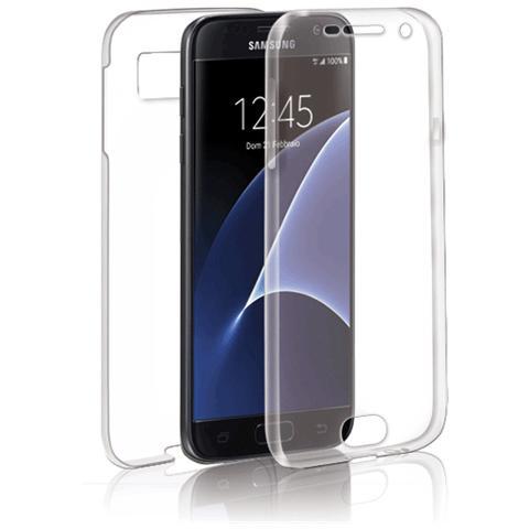 FONEX Specter Cover Fronte / Retro in TPU con Funzione 3D Touch per Galaxy S7 Edge Colore Trasparente