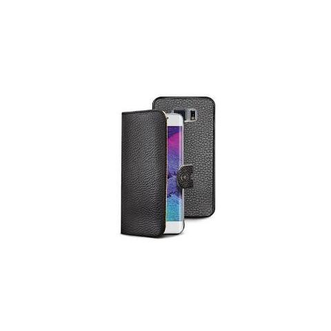 CELLY Custodia Booklet per Galaxy S6 Edge - Colore Nero