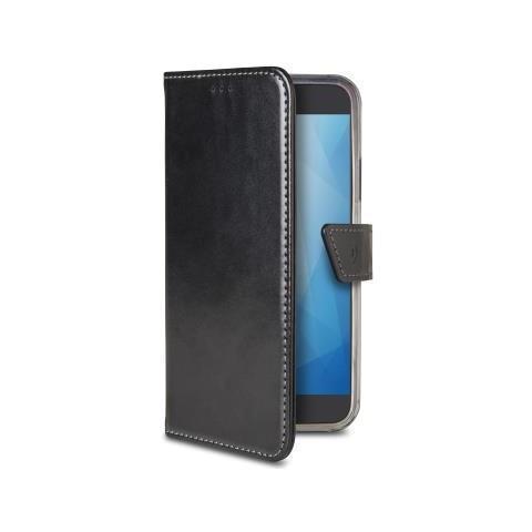 CELLY Flip Cover Custodia per Galaxy A7 2018 Colore Nero