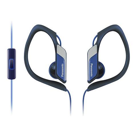 "PANASONIC RP-HS34ME, Stereofonico, 3.5 mm (1/8"") , Interno orecchio, Blu, Cablato, Intraurale"