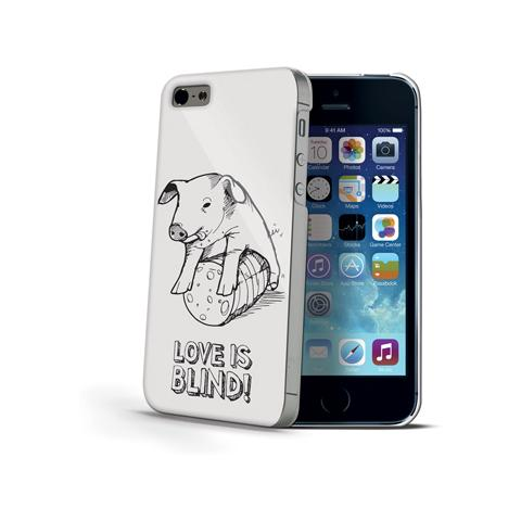 CELLY Cover per iPhone 5 - Love is Blind
