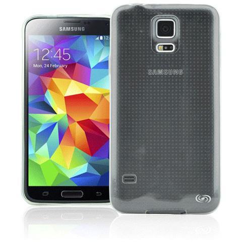 FONEX Inv Cover Ultra Sottile 0,2 mm in Morbido TPU per Galaxy S5 / S5 Neo Colore Trasparente