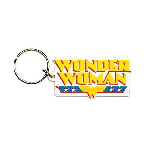 PYRAMID Dc Comics - Wonder Woman - Logo (Portachiavi Gomma)