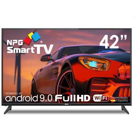Image of 430L42F 2021 - Smart TV 42? Full HD Android 9.0, Processore Quad Core, WiFi, DVB-T2 / C, PVR, Screen Mirroning, Smart TV Multilingua