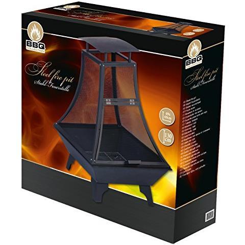 DOBENO 8711252456201 Barbecue Caminetto Carbonella Nero barbecue e bistecchiera