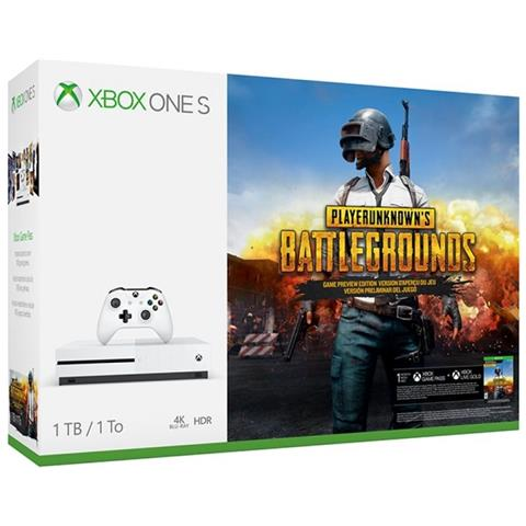 Image of Console Xbox One S 1 Tb + PlayerUnknown's Battlegrounds