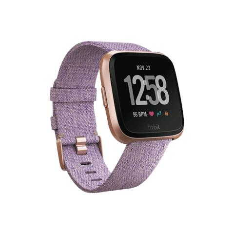 "Fitbit Smartwatch Versa Impermeabile 5ATM Display 1.34"" Bluetooth Wi-Fi e NFC per Fitness Lavanda - Italia"