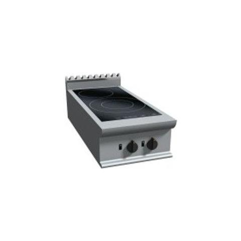 Cucina a induzione da banco - Dim. cm 40x90x27h