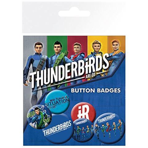 GB EYE Thunderbirds Are Go - International Rescue (badge Pack)