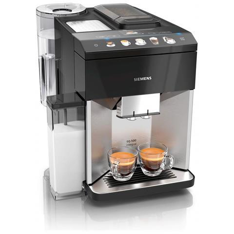 Macchina Caffè Espresso EQ. 500 Automatica 15 Bar Colore Nero / Argento