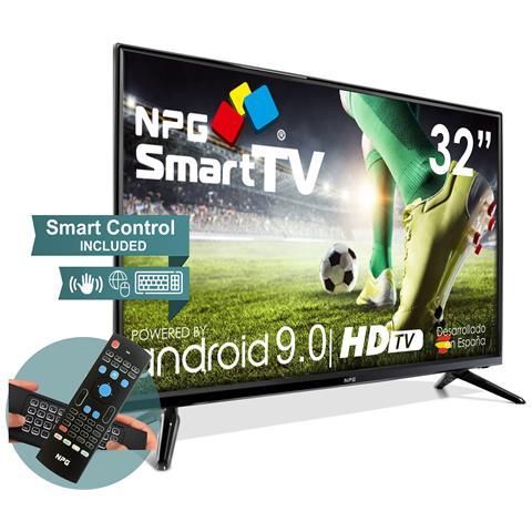 Image of 430L32HQ 2021 - Smart TV 32? HD ed esclusivo telecomando con tastiera QWERTY e funzione MOTION, Android 9.0, Processore Quad Core, WiFi, DVB-T2 / C, PVR, Screen Mirroning, Smart TV multilingue