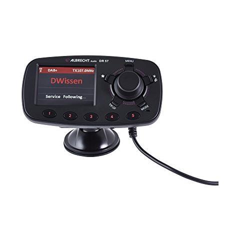 ALBRECHT DR 57 87.6 - 107.9MHz Bluetooth Nero trasmettitore FM