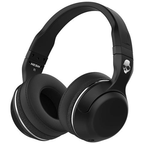 SKULLCANDY - Cuffie con Microfono Bluetooth Hesh 2 Colore Nero 55aa8617f2cd
