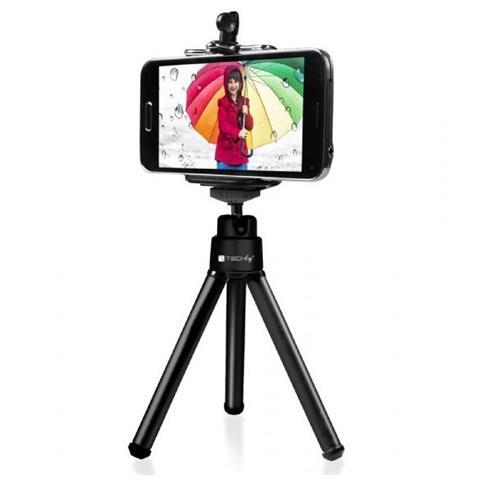 TECHLY Treppiede Portatile Universale per Selfie