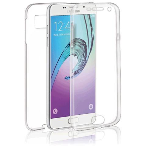 FONEX Specter Cover Fronte / Retro in TPU con Funzione 3D Touch per Galaxy A5 (6) Colore Trasparente
