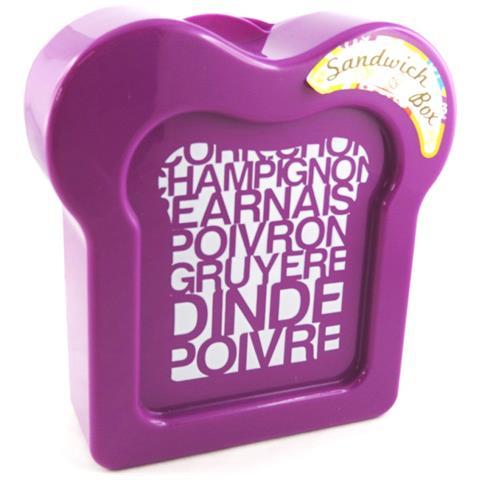 panino box 'coloriage' viola - [ m3958]