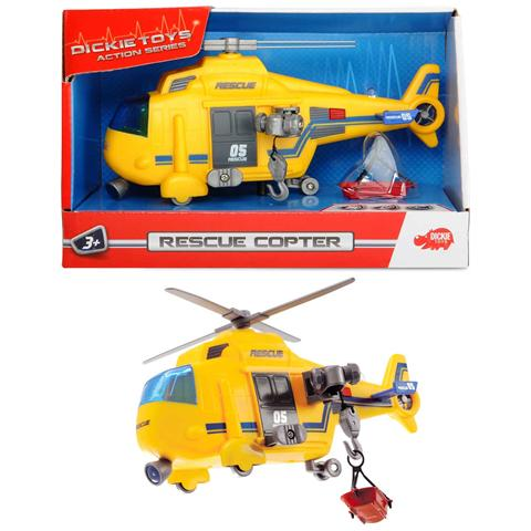 Dickie Toys Action Series - Elicottero Con Luci 15 Cm