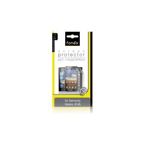 FONEX Pellicola Protettiva Anti Impronta per Samsung Galaxy J5 (6) (2Pz)