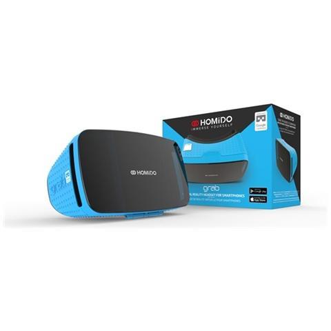 """HOMIDO VR Grab per Smartphone da 4.7"""" - 5.7"""" Android / iOS - Nero / Blu"""