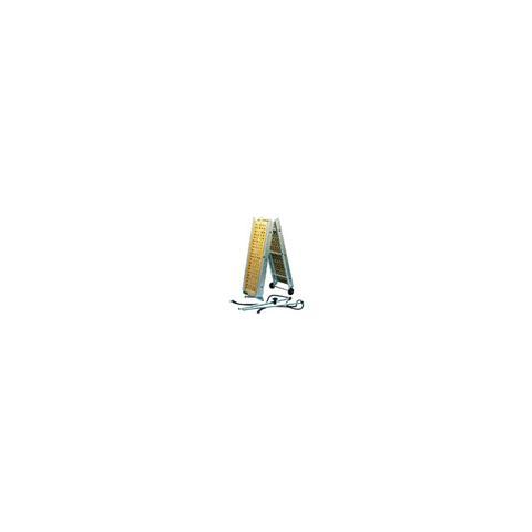 Passerella pieghevole teak 310 cm