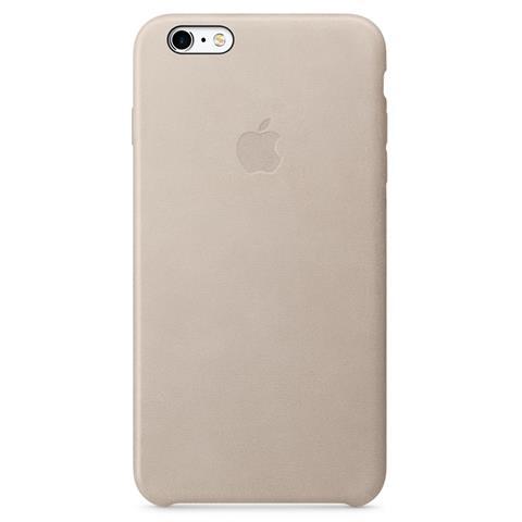 APPLE Custodia in Pelle per iPhone 6S Plus Grigio Rosa