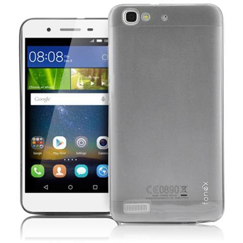 FONEX Inv Cover Ultra Sottile 0,2 mm in Morbido TPU per Huawei P8 Lite Smart Colore Trasparente