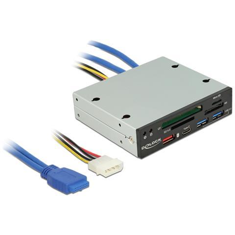 Lettore di Schede USB 3.0 da 3.5