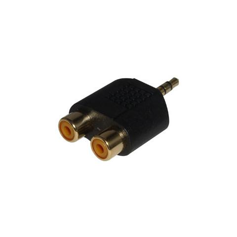 LINDY Adattatore Audio 2 x RCA a 3,5mm M