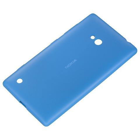 NOKIA Soft Cover Cyan Lumia 720