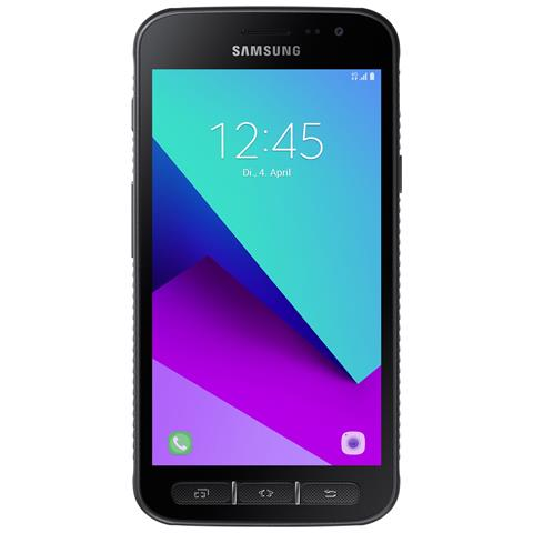 "SAMSUNG Galaxy Xcover 4 Nero 16 GB 4G / LTE Impermeabile Display 5"" HD Slot Micro SD Fotocamera 13 Mpx Android Italia"