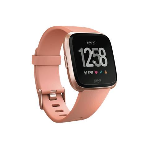 """Fitbit Smartwatch Versa Display 1.3"""" con Bluetooth e Wi-Fi Oro Rosa - Italia"""
