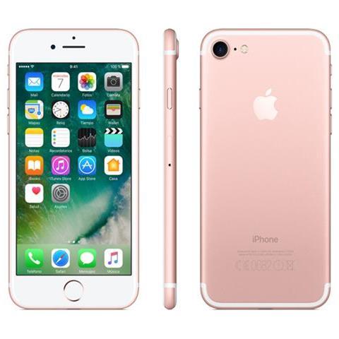 iPhone 7 32 GB Oro / Rosa Caricatore con Spina Inglese