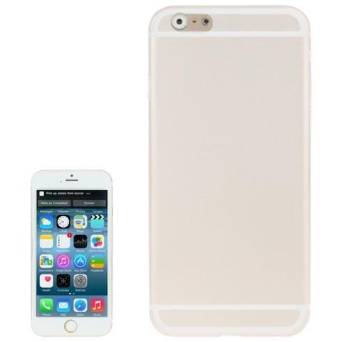 Network Shop Custodia Policarbonato 0.3mm Ultra Sottile Bianco Trasparente Per Iphone 6