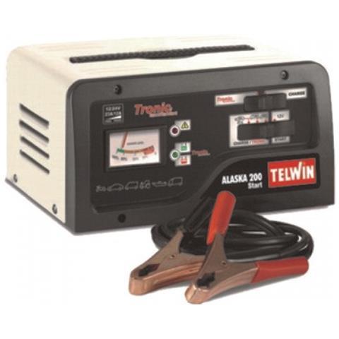 Caricabatterie Avviat. telwin Alaska 200 Start 12-24 V Utensileria Elettrica