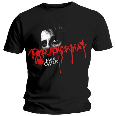 ROCK OFF Alice Cooper - Paranormal Eyes (T-Shirt Unisex Tg. M)