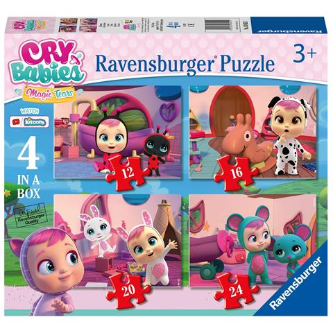 RAVENSBURGER PUZZLE 4IN1 CRY BABIES