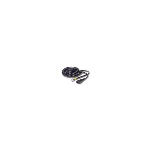JABRA QD cord, straight, mod plug, QD, RJ10