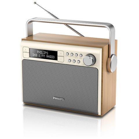 Philips Radio Portatile AE5020/12 Sintonizzatore DAB / DAB+ / FM
