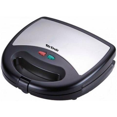 Piastra Grill Elettrica Gr2165 750w Nero Inox S0420472