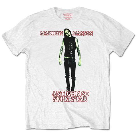 ROCK OFF Marilyn Manson - Antichrist (T-Shirt Unisex Tg. L)