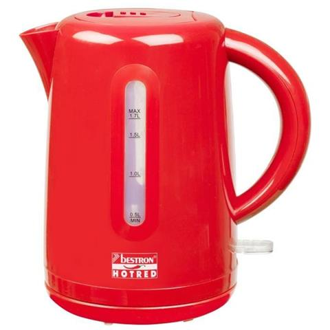 Bollitore Elettrico Senza Fili 1,7 L Hot Red 2200 W Awk300hr