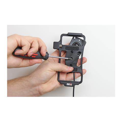 BRODIT 513712 Auto Active holder Nero supporto per personal communication